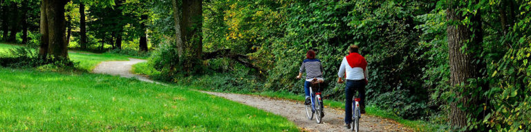 randonnée vélo famille